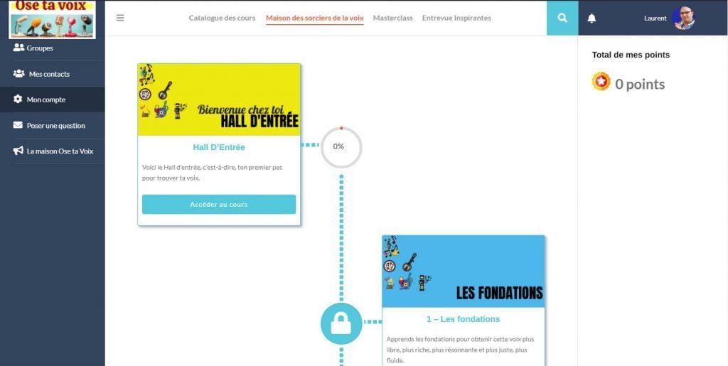 Comment Lucas gagne des revenus constants avec son site de cours en ligne